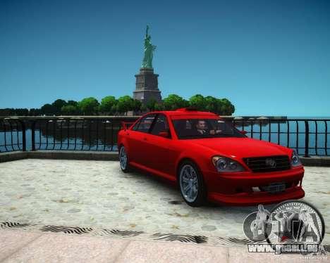 Schafter RS für GTA 4 rechte Ansicht