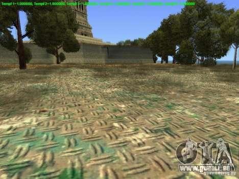 Statue de la liberté 2013 pour GTA San Andreas quatrième écran
