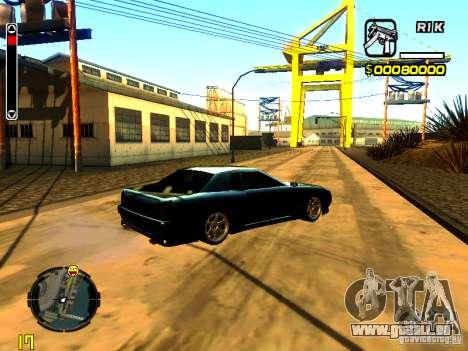 New Elegy v1 pour GTA San Andreas vue de droite