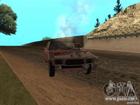 Ford Cortina MK 3 2000E pour GTA San Andreas vue de dessus