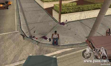 GTA SA Real ragdoll für GTA San Andreas zweiten Screenshot