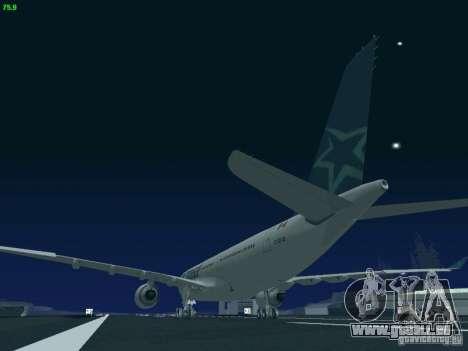 Airbus A330-200 Air Transat für GTA San Andreas Seitenansicht
