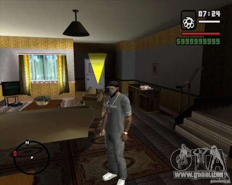 Remplacement de l'ensemble CJeâ de maison pour GTA San Andreas