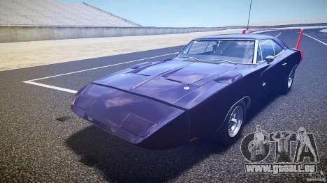 Dodge Charger Daytona 1969 [EPM] pour GTA 4 est une vue de dessous
