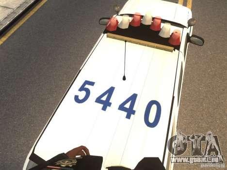 Chevrolet Tahoe NYPD V.2.0 pour GTA 4 Vue arrière