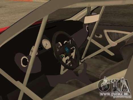Dacia Logan Rally Dirt pour GTA San Andreas sur la vue arrière gauche
