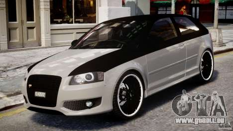 Audi S3 pour GTA 4 est une gauche
