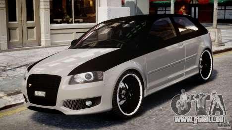 Audi S3 für GTA 4 linke Ansicht