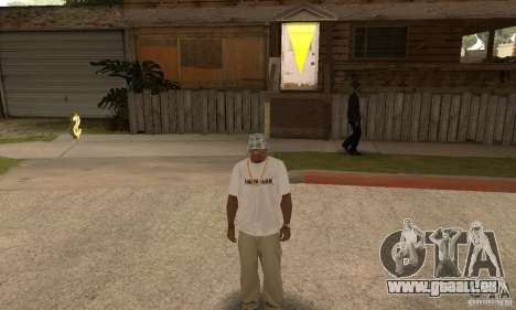 LP shirt white für GTA San Andreas dritten Screenshot