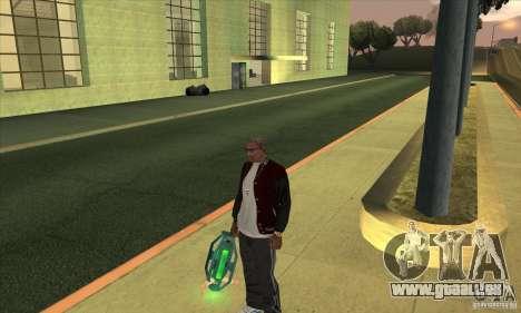 GraviPuška für GTA San Andreas zweiten Screenshot