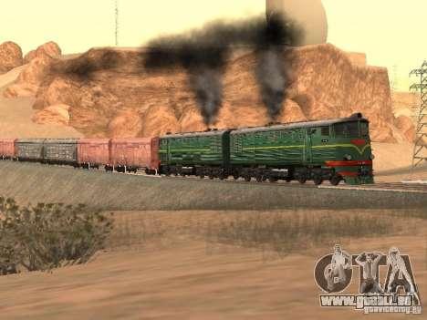 TE3 pour GTA San Andreas vue arrière