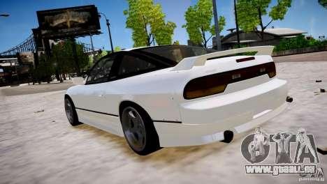 Nissan 240SX Drift für GTA 4 hinten links Ansicht