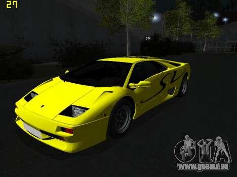 Lamborghini Diablo SV für GTA San Andreas