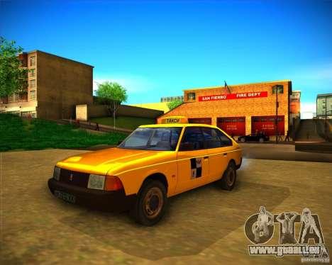2141 AZLK taxi für GTA San Andreas