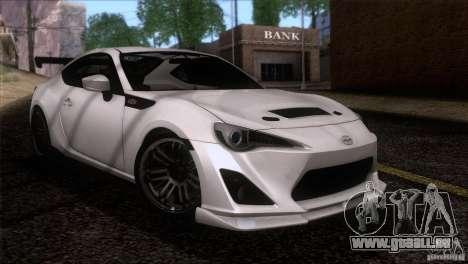 Scion FR-S 2013 pour GTA San Andreas vue de droite
