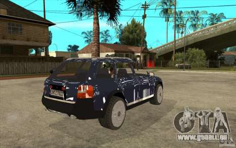 Audi Allroad Quattro für GTA San Andreas rechten Ansicht