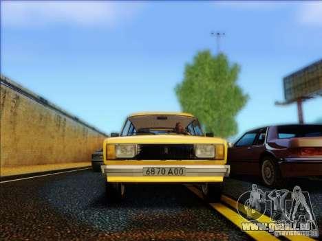 VAZ 2104 Taxi für GTA San Andreas Innenansicht