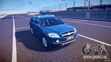 Chevrolet Captiva 2010 Final für GTA 4 Innenansicht