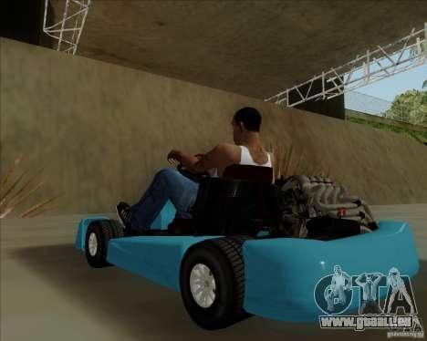 Kart pour GTA San Andreas vue arrière