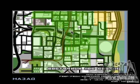 Basketball Court v6.0 für GTA San Andreas sechsten Screenshot