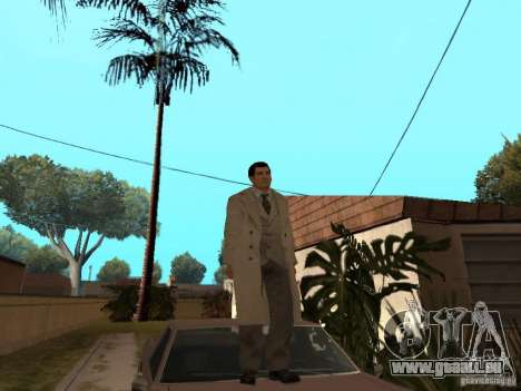 Joe Barbaro de Mafia 2 pour GTA San Andreas deuxième écran