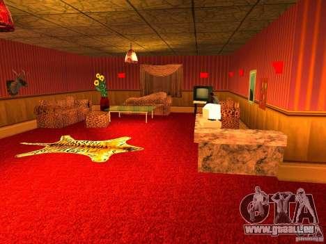 Bordel Cj v1.0 pour GTA San Andreas septième écran
