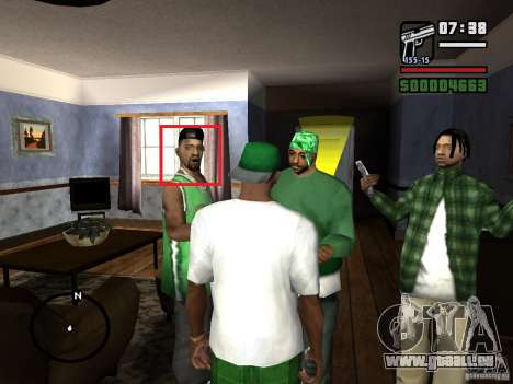 Verlegenheit Gesichts Animationen für GTA San Andreas