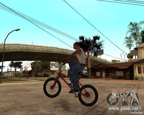X-game BMX für GTA San Andreas linke Ansicht