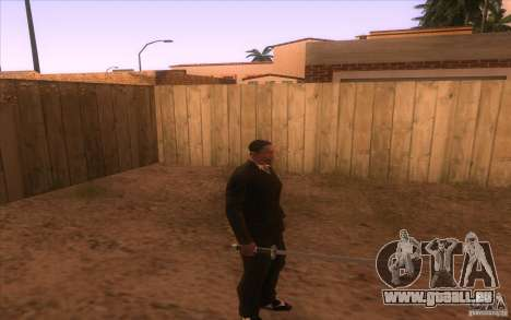 Katana pour GTA San Andreas deuxième écran
