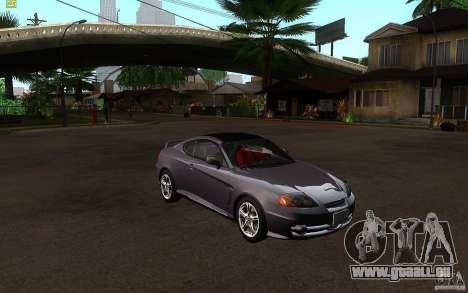 Hyundai Tiburon V6 Coupe 2003 für GTA San Andreas Rückansicht