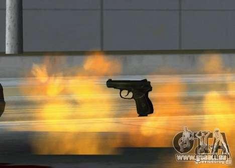 Pak intérieur armes version 6 pour GTA San Andreas quatrième écran