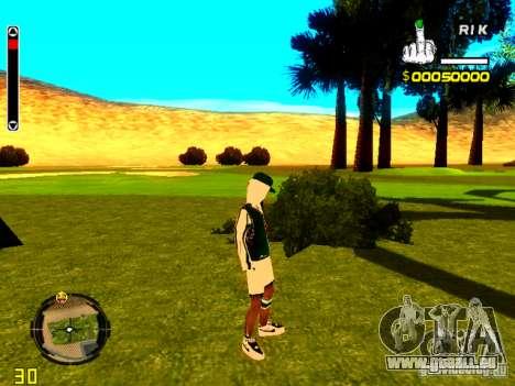 Haut Penner v5 für GTA San Andreas her Screenshot
