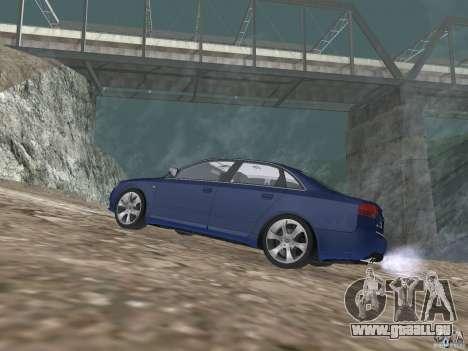 Audi S6 pour GTA San Andreas laissé vue
