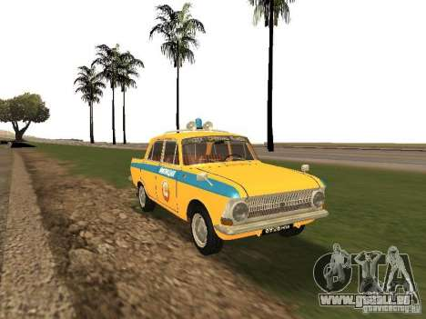 IZH 412 GAI pour GTA San Andreas