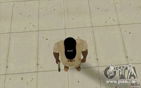 Boss Black cap für GTA San Andreas dritten Screenshot