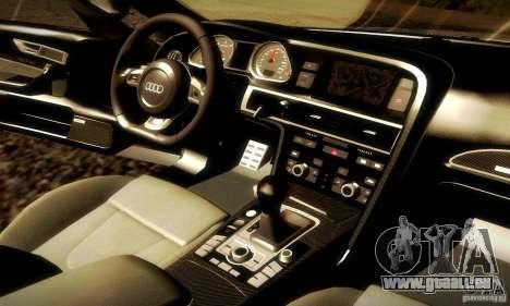 Audi RS6 TT für GTA San Andreas obere Ansicht