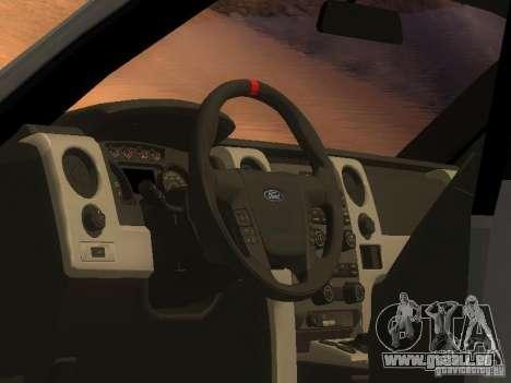 Ford F-150 Sargento Federal Edition pour GTA San Andreas sur la vue arrière gauche