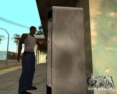Neumaschinen für GTA San Andreas dritten Screenshot