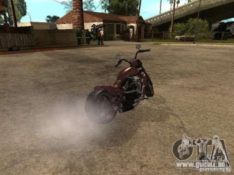 Harley Davidson für GTA San Andreas linke Ansicht
