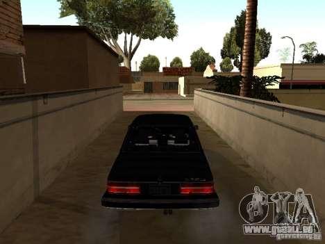 BMW 535is E28 pour GTA San Andreas vue de droite