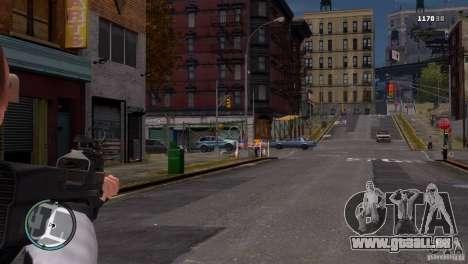 FN P90 für GTA 4 dritte Screenshot