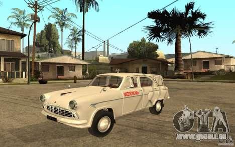 Moskvitch 423 m Ambulance pour GTA San Andreas