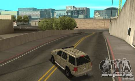 Ford Explorer 2002 für GTA San Andreas Räder