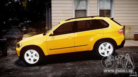 BMW X5 E70 v1.0 für GTA 4 linke Ansicht