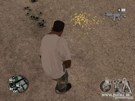 Diese Liner (Ärmel) für GTA San Andreas fünften Screenshot