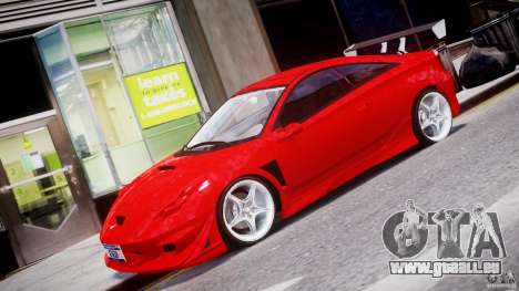 Toyota Celica Tuned 2001 v1.0 für GTA 4 linke Ansicht
