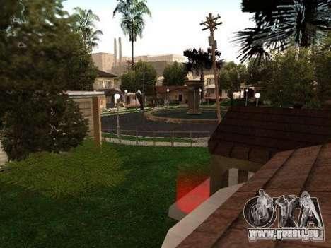 Nev Groove Street 1.0 pour GTA San Andreas troisième écran