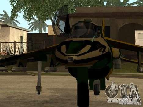 Camouflage pour Hydra pour GTA San Andreas