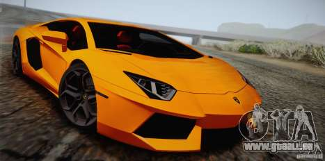 Lamborghini Aventador LP700-4 Final pour GTA San Andreas vue de dessus