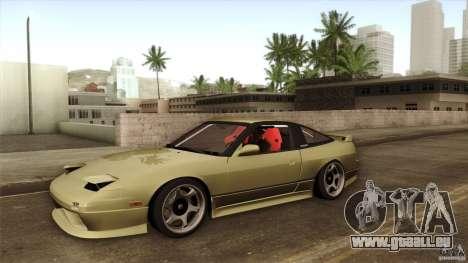 Nissan 240SX S13 Drift Alliance für GTA San Andreas Seitenansicht